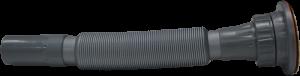 Siyah - Körüklü Lavabo Sifonu