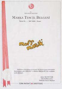 Muff Matik - Marka Tescil