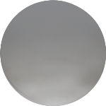 Çekvalfli Körüklü Lavabo Sifon - 70 mm Takım Dekoratif Kapağı Plastik - Krom