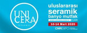 UNICERA 2020 Fuarına Katıldık